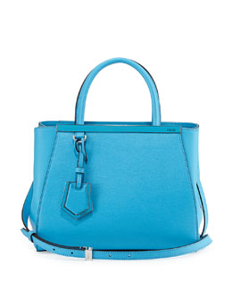 2Jours Mini Shopping Tote, Medium Blue