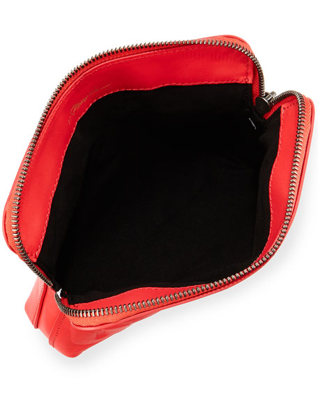 "31-Second ""GORGE"" Makeup Pouch, Raspberry"