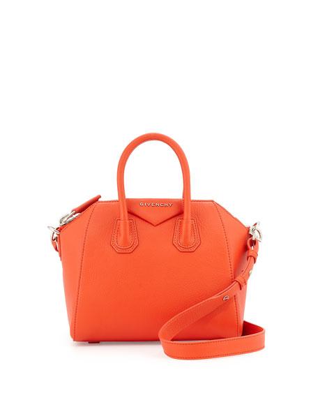 0ca0cc6bd650 Givenchy Antigona Mini Leather Satchel Bag
