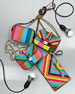 1973 Beaded Small Lock Shoulder Bag