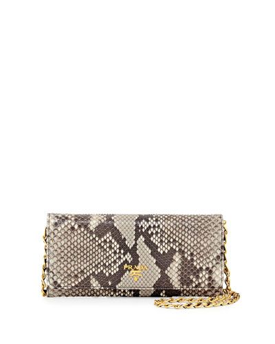Python Wallet on a Chain, Natural (Roccia)