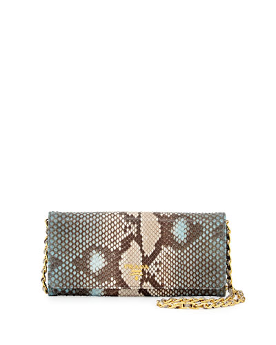 Python Wallet on a Chain, Blue (Lago)