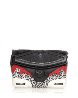 Stingray Colorblock Sneaker Clutch Bag