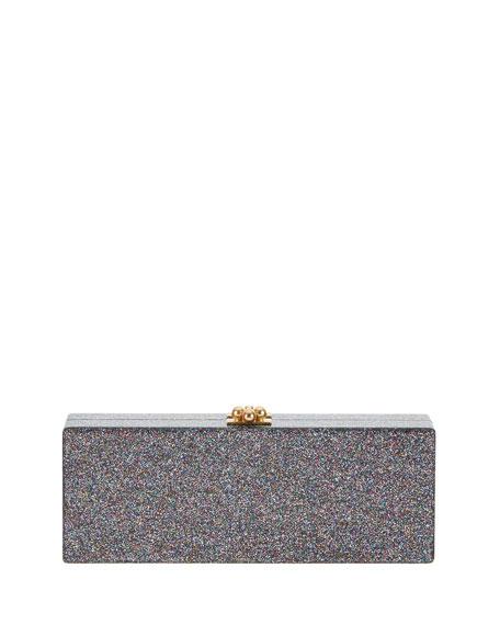 Flavia Acrylic Karma Clutch Bag