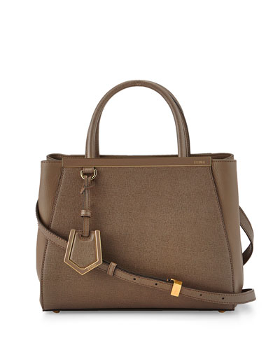 2Jours Petite Shopping Tote Bag, Brown