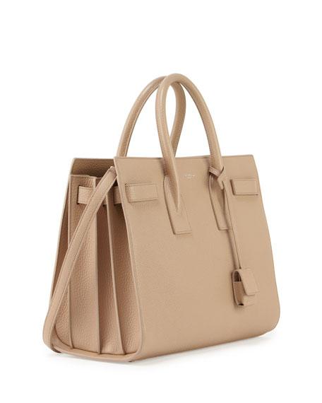6b1327a4622 Saint Laurent Sac de Jour Large Carryall Bag, Dark Beige