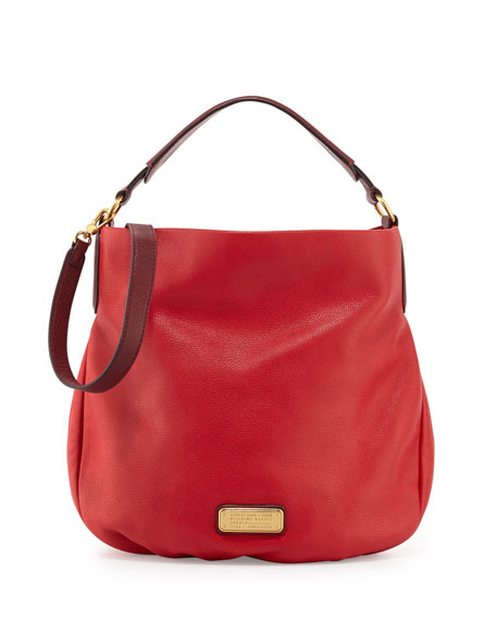 MARC by Marc Jacobs New Q Hillier Hobo, Rosey Red e298cc8eb890