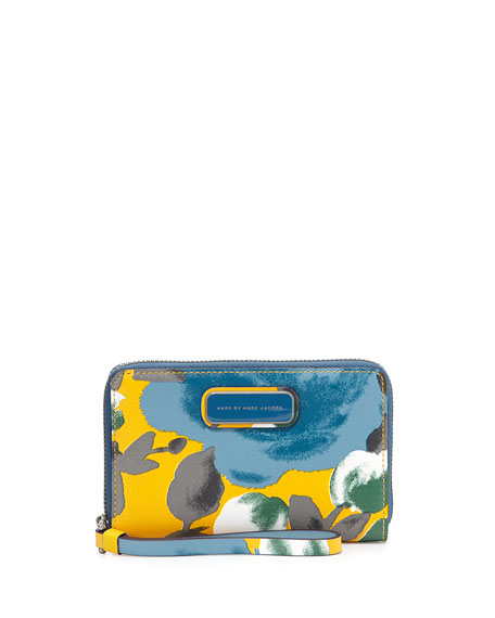 Sophisticato Jerrie Rose Wristlet, Yellow Jacket