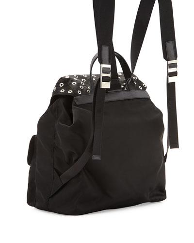 b4ca78590ab5 ... black and white prada handbags prada leather messenger - prada tessuto  grommet bag, prada replica handbags ...
