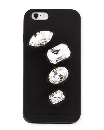 Rhinestone Knuckle Ring iPhone 6 Case, Black