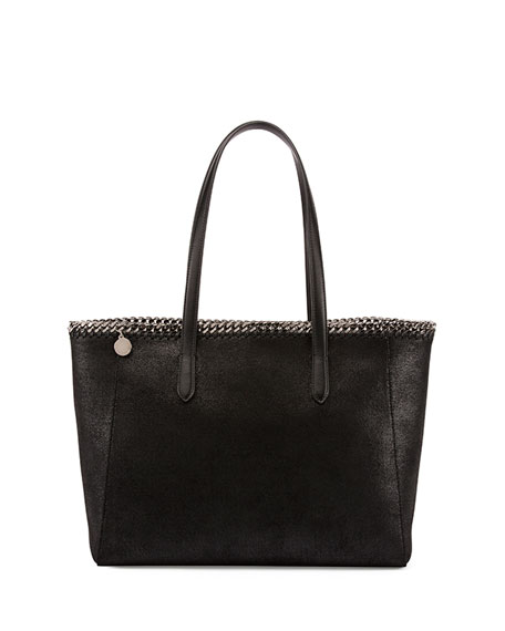Stella McCartney Falabella East-West Shopper, Black