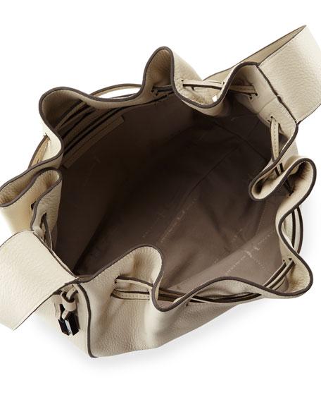 Halston Heritage Pebbled-Leather Bucket Bag 6c1bc8fcc8fde