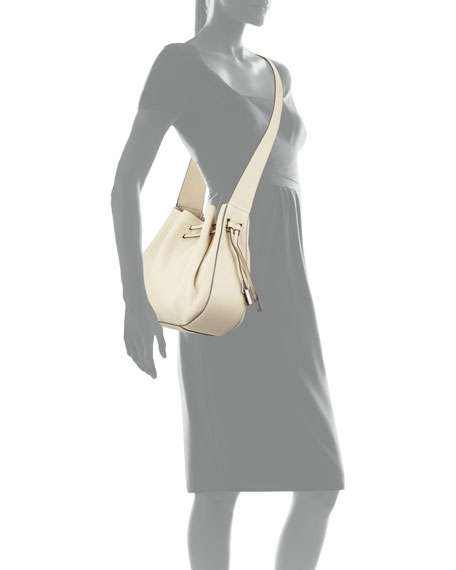 9797333350d8 Halston Heritage Pebbled-Leather Bucket Bag