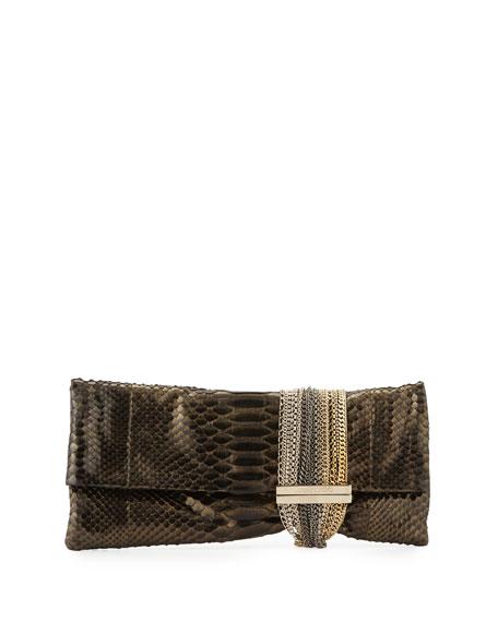 prada black and white wallet - prada metallic fold-over clutch, pink prada bags