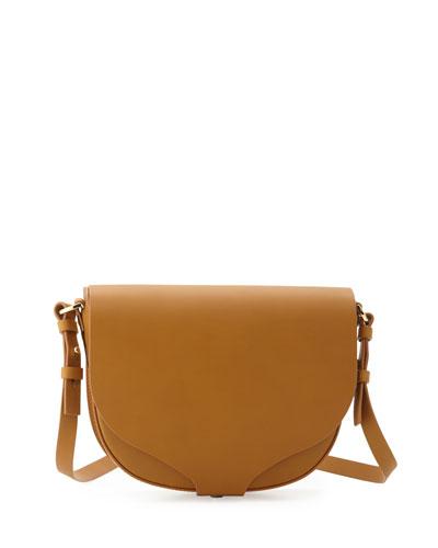 Barnsbury Medium Saddle Bag, Tan
