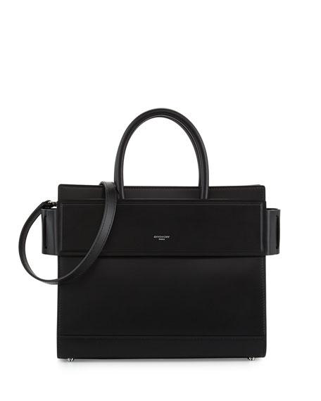 Horizon Small Smooth Leather Satchel Bag