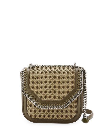 ed45f7ce551b Stella McCartney Falabella Mini Wicker Box Shoulder Bag
