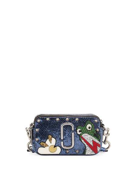 Marc Jacobs Snapshot Frog Camera Bag, Navy
