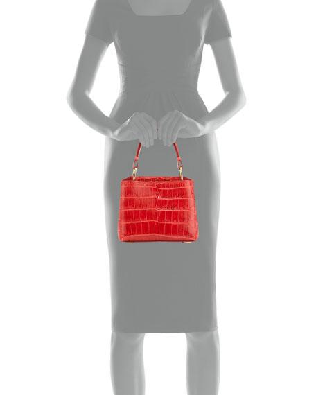 Seven 20Cocco Crocodile Bag, Red