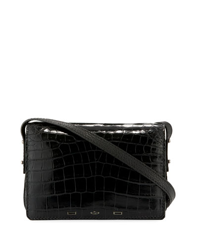 Pulcecocco Crocodile Shoulder Bag