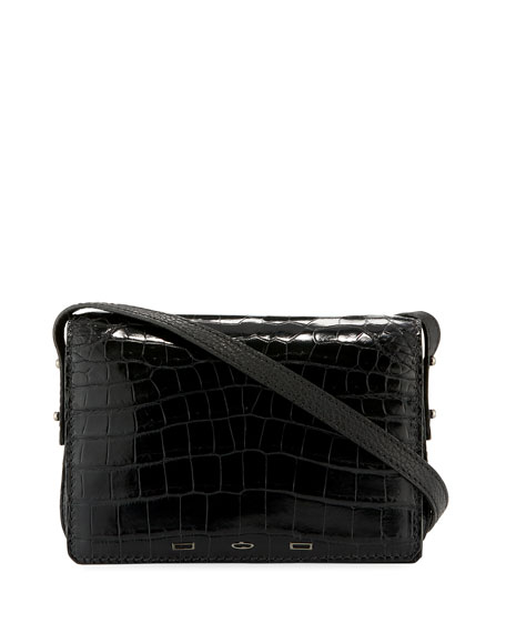 Pulcecocco Crocodile Shoulder Bag