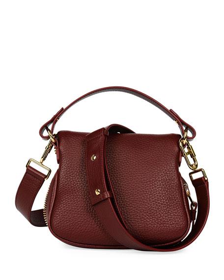Jennifer Mini Grained Leather Shoulder Bag