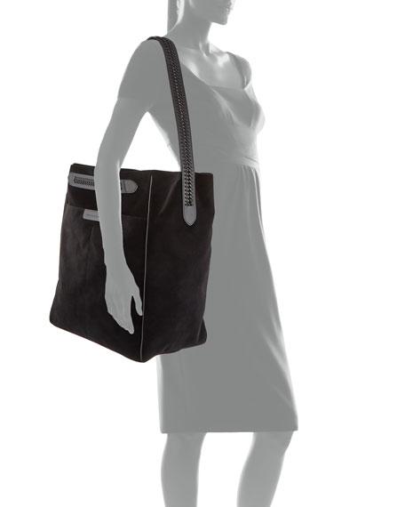 Falabella Velvet Tote Bag