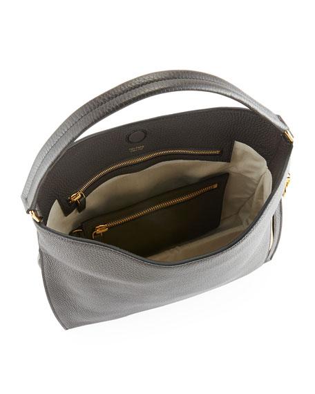 Alix Small Calfskin Hobo Bag