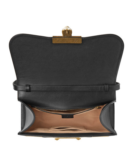 Osiride Medium GG Supreme & Leather Top-Handle Bag