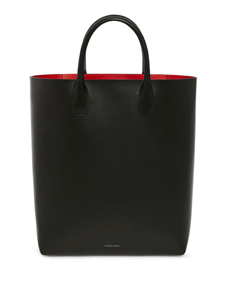 North South tote - Red Mansur Gavriel Store Online Clearance Wholesale Price Online Sale Online uM3Wu