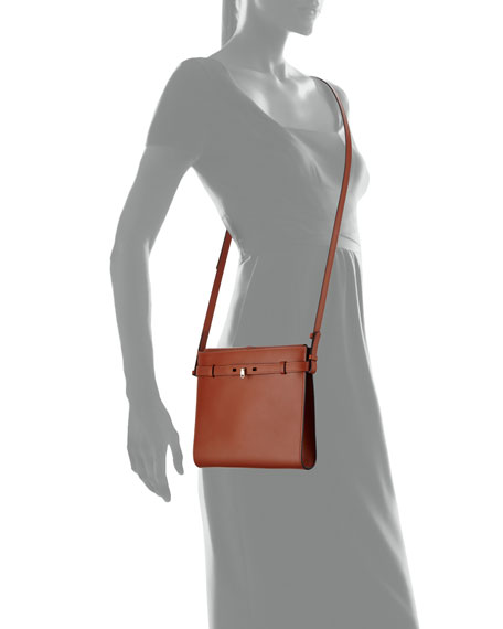Tracollina Leather Shoulder Bag