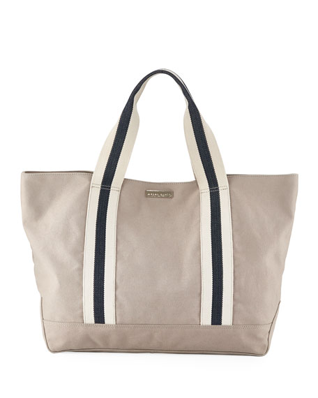 Heidi Klein Bahamas Large Canvas Beach Tote Bag,