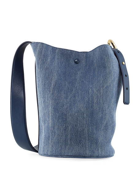 Derek Lam 10 Crosby Grove Denim Bucket Bag,