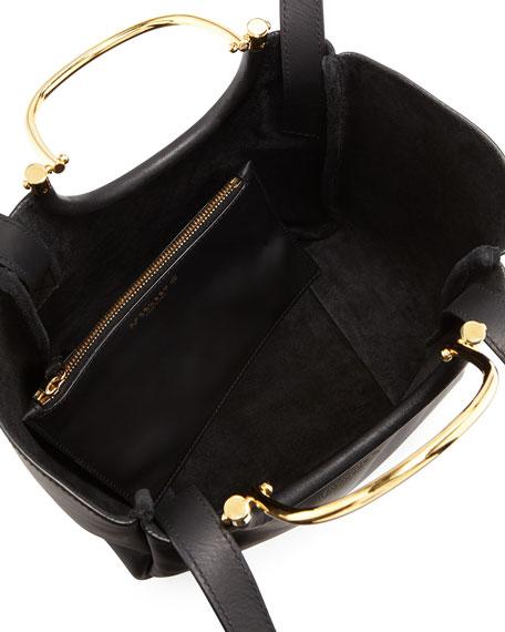 Hudson Mini Tote Bag, Black