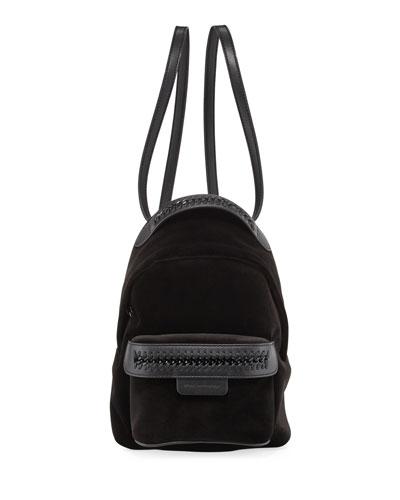 Velvet Mini Falabella Backpack