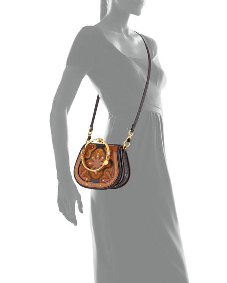 Nile Small Floral Patchwork Bracelet Bag
