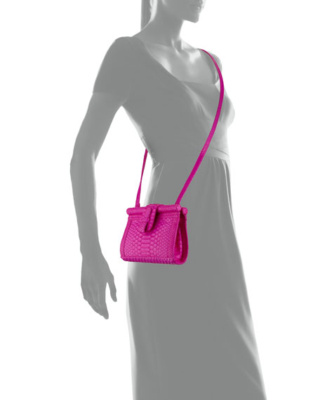 Carmen Python Clutch Bag