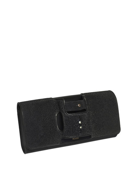 La Capitale Stingray Clutch Bag