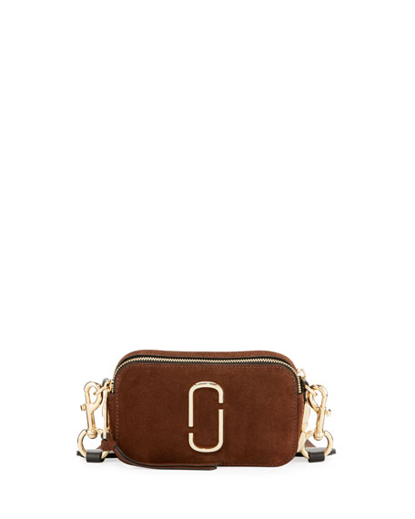 Marc Jacobs Chain Snapshot Suede Shoulder Bag 647164bda1