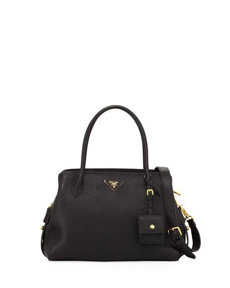 Prada Medium Vitello Daino Top-Handle Bag 9a6e33a24bbd3
