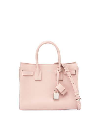 Sac de Jour Baby Grain Leather Tote Bag, Blush