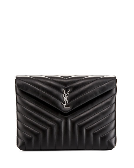 Saint Laurent Monogram Loulou Quilted Document Holder