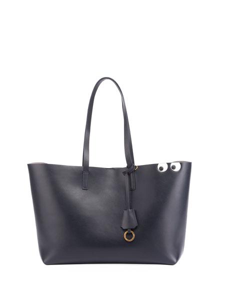 Ebury Shopper II Eyes Tote Bag, Blue