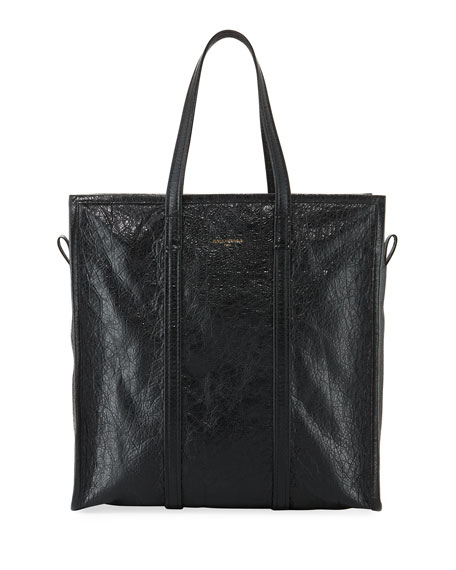 Balenciaga Bazar Medium Leather Shopper Tote Bag