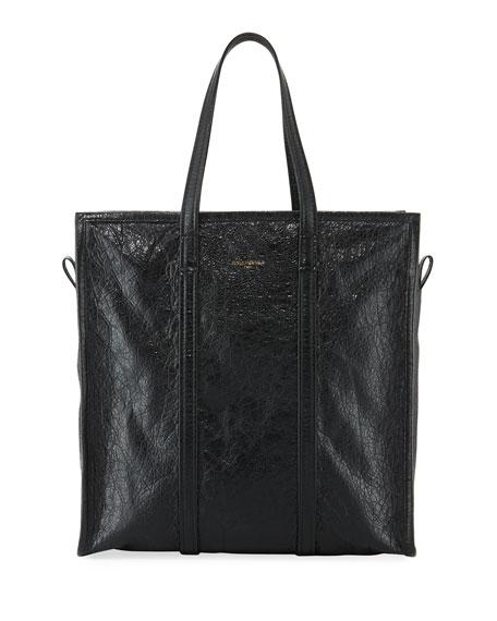 Bazar Medium Leather Shopper Tote Bag