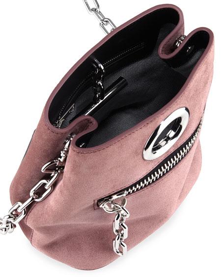 Riot Suede Crossbody Bag
