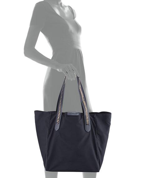 ef37329f0851 Stella McCartney Eco Nylon Medium Falabella Go Tote Bag