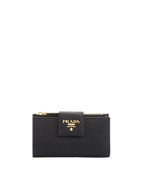 Amazing Deal on Prada Women's Saffiano Leather Continental Wallet ...