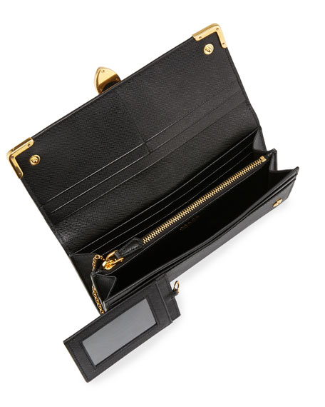Cahier Continental Leather Wallet