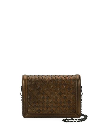 Montebello Mini Intrecciato Wallet on Chain